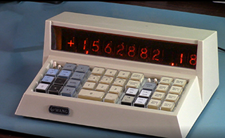A Modern Electronic Package for the Wang 300 Series Calculator #VintageComputing
