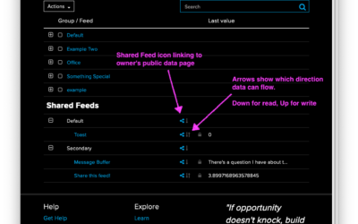 Adafruit IO Update: More Useful Shared Feeds in Adafruit IO #IoT @adafruitio @adafruit