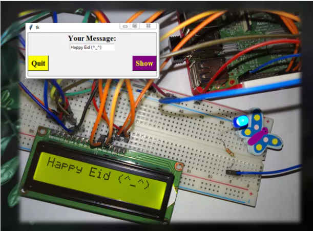 Interfacing 16×2 LCD in Raspberry Pi Using Python & Tk Tools #piday #raspberrypi @Raspberry_Pi