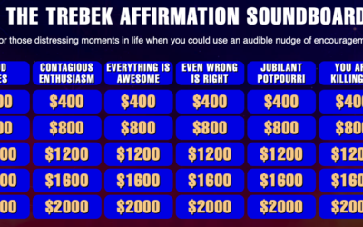 The Trebek Affirmation Soundboard